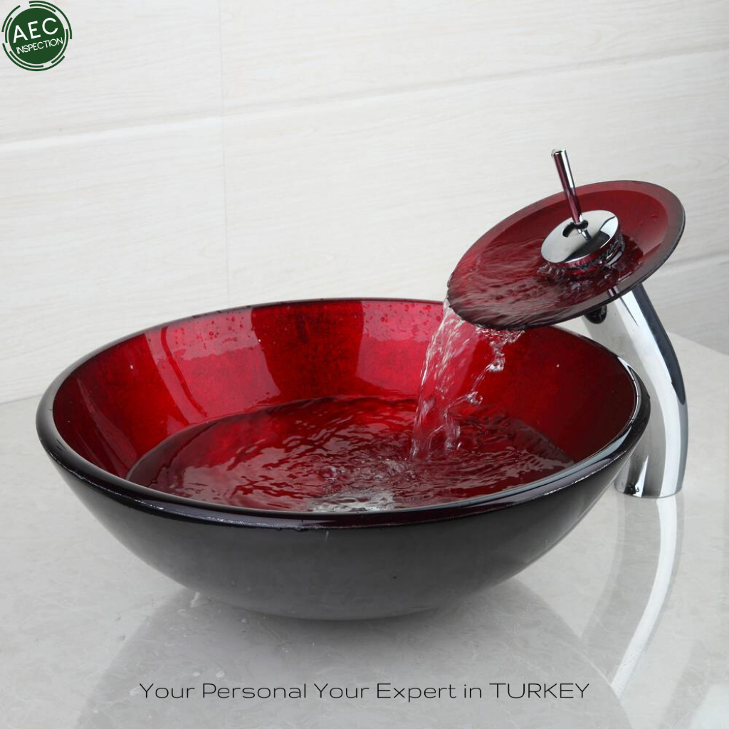 glass sink made in turkey 50pcs sold