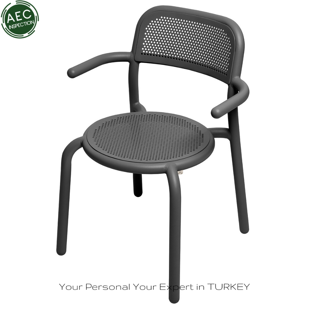 made in turkey metal chair