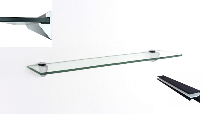 You are not required to use tempered glass when making shelves